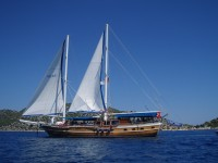 4 Days Boat Tour from Fethiye to Olympos